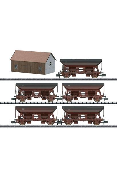 15536 Seitenentladewagen-Set DB