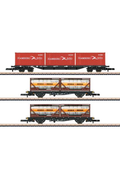 82663 Containertragwagen-Set DB AG