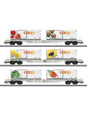Märklin 47461 Containerwagen-Set Coop