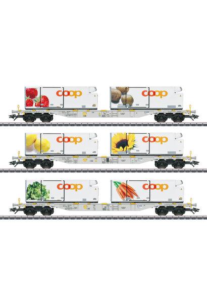 47461 Containerwagen-Set Coop