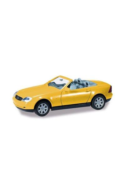 Mercedes Benz SLK, Geel (Minikit)