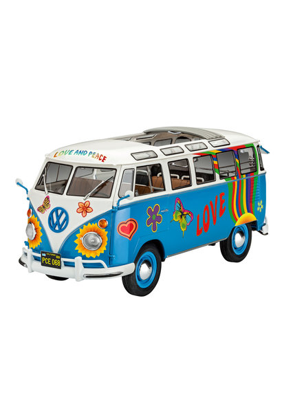 1:24 VW T1 Samba Bus Flower Power