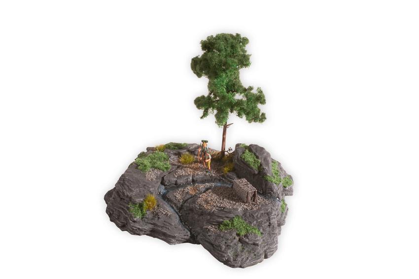 "10012 Diorama Kit ""Rocky Mountain""-1"
