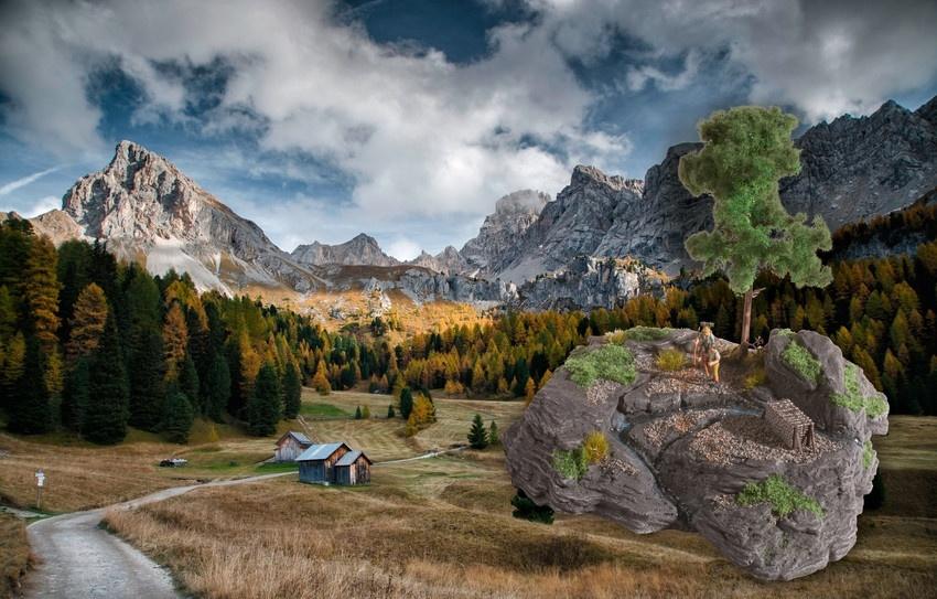 "10012 Diorama Kit ""Rocky Mountain""-2"