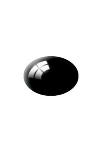 36107 Aqua schwarz, glänzend