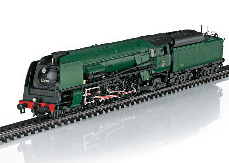 39480 sneltrein stoomlocomotief Serie 1 van de NMBS-1