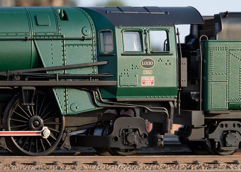 39480 sneltrein stoomlocomotief Serie 1 van de NMBS-3