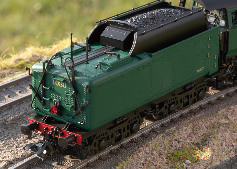 39480 sneltrein stoomlocomotief Serie 1 van de NMBS-7