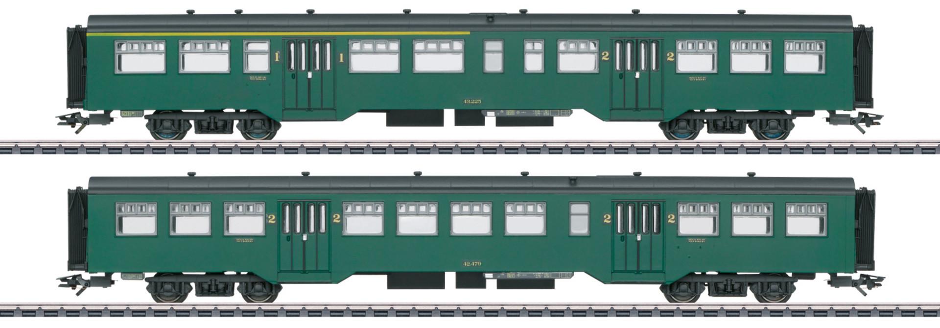 43546 Personenwagen-Set M2 SNCB