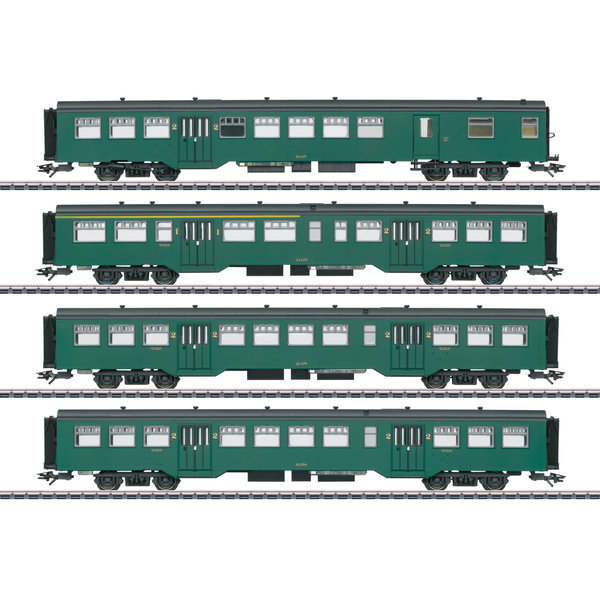 Märklin 43546 Personenwagen-Set M2 SNCB