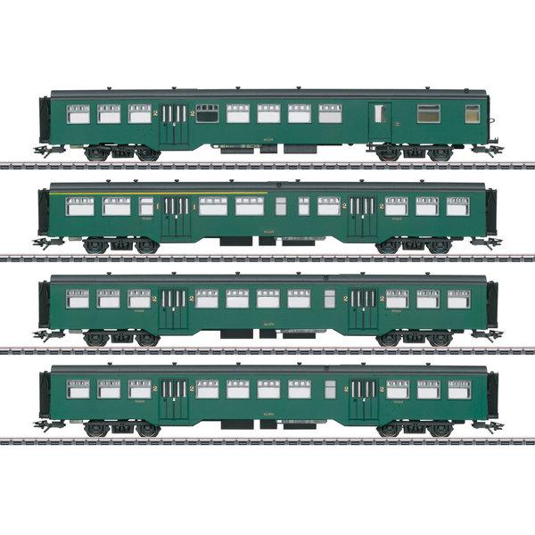 Trix 23221 Personenwagen-Set M2 SNCB