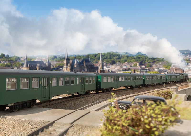 43546 Personenwagen-Set M2 SNCB-2
