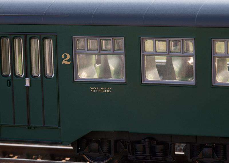 43546 Personenwagen-Set M2 SNCB-3
