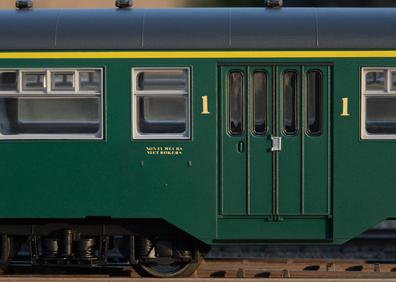 43546 Personenwagen-Set M2 SNCB-4