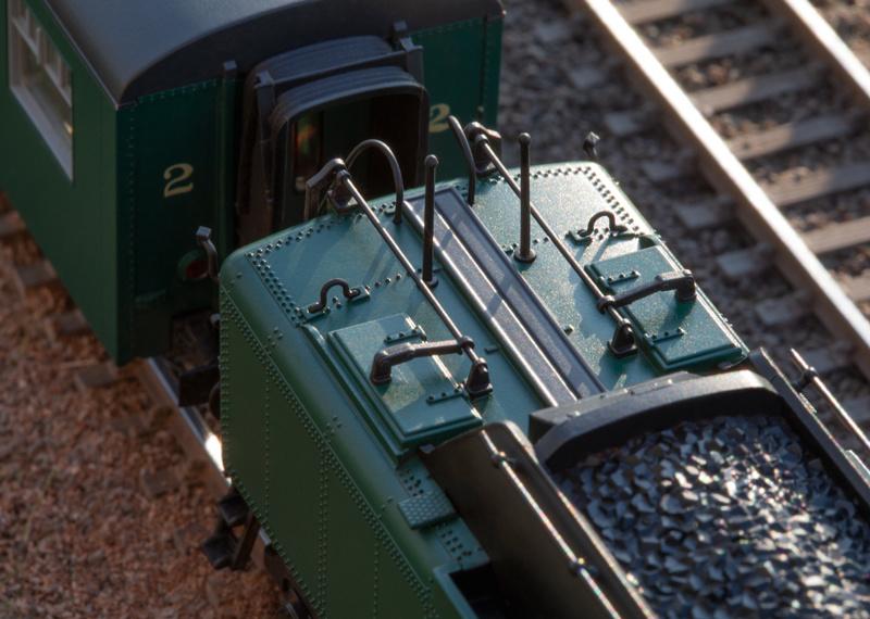 25480 sneltrein stoomlocomotief Serie 1 van de NMBS-5