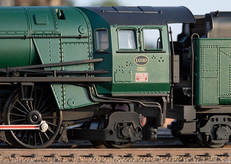 25480 sneltrein stoomlocomotief Serie 1 van de NMBS-6