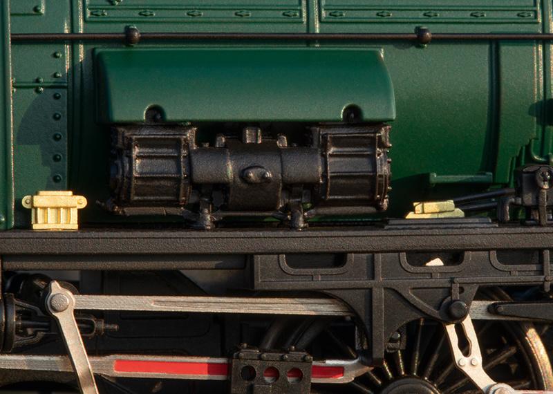 25480 sneltrein stoomlocomotief Serie 1 van de NMBS-7