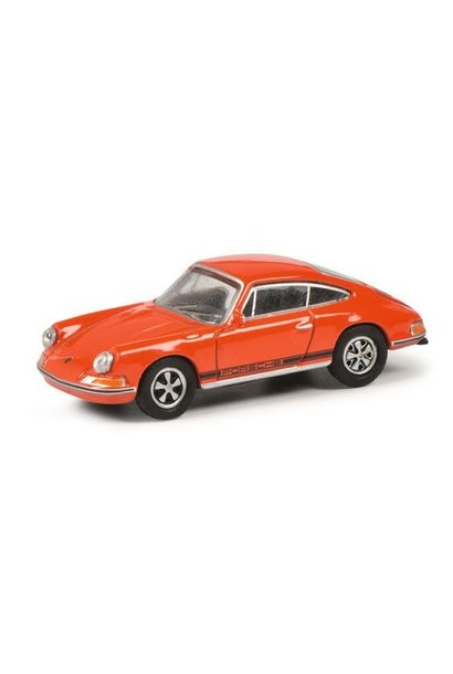 H0 Porsche 911 S, oranje