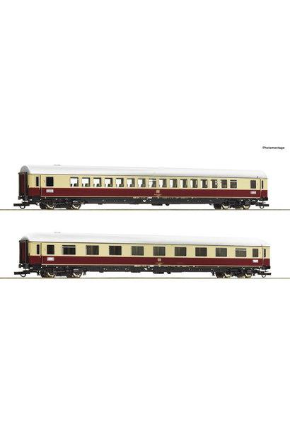 """74074 2 delige personenwagen set 3: TEE 74/75 """"Roland"""""""