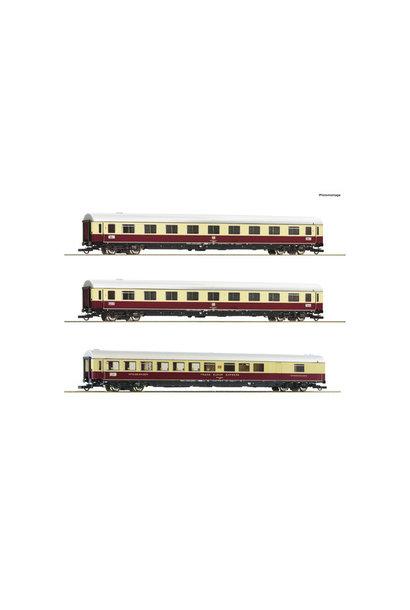 """74073 3 delige personenwagen set 2: TEE 74/75 """"Roland"""""""