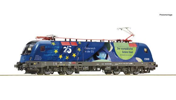 """70502 Elektrische locomotief 1116 276-7 """"25 Jahre Östenreich in der EU""""-1"""