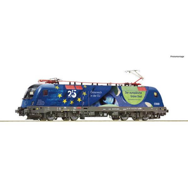 """Roco 70501 Elektrische locomotief 1116 276-7 """"25 Jahre Östenreich in der EU"""""""