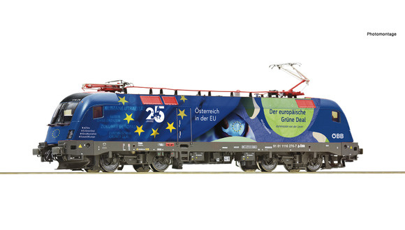 """70501 Elektrische locomotief 1116 276-7 """"25 Jahre Östenreich in der EU""""-1"""