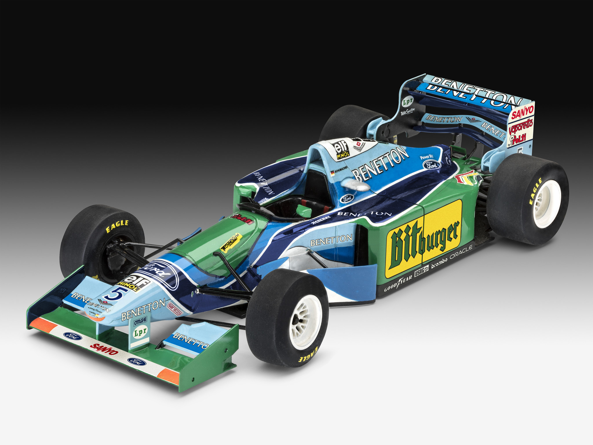 "1:24 25th Anniversary ""Benetton Ford""-1"