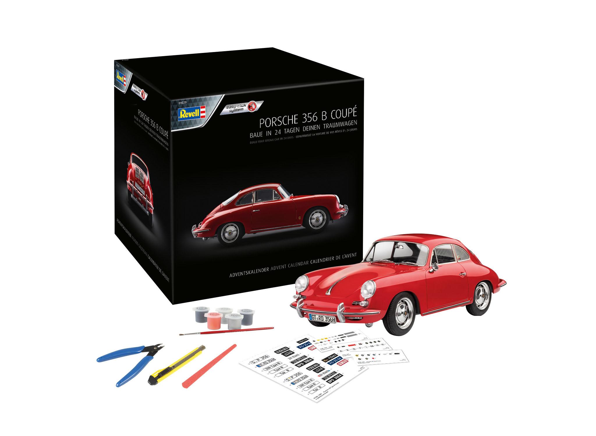 1:16 Adventskalender Porsche 356-1