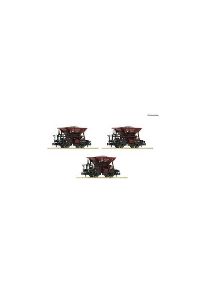 822706 3 delige set: grintwagens