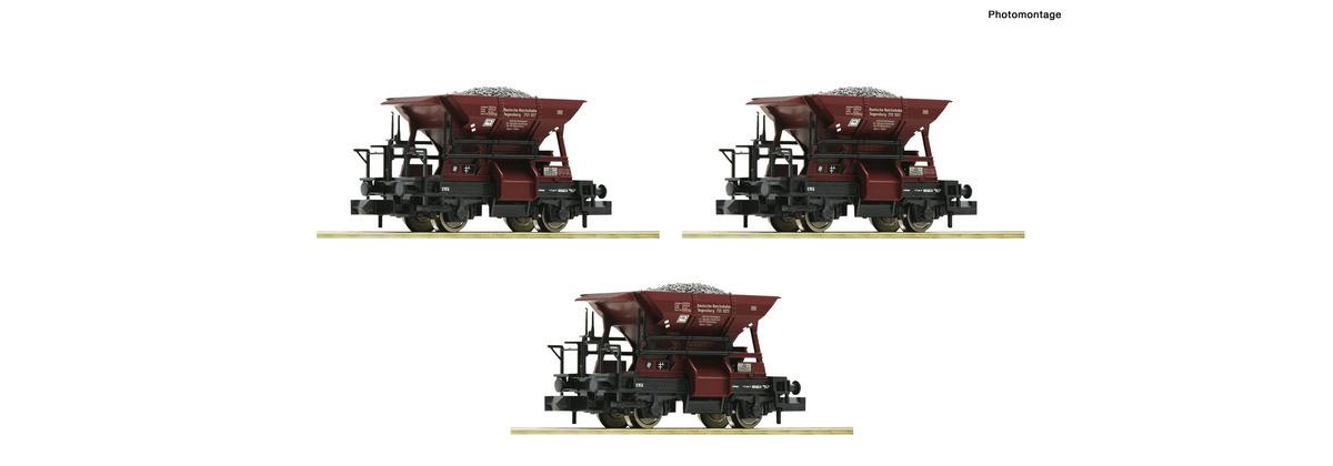 822706 3 delige set: grintwagens-1