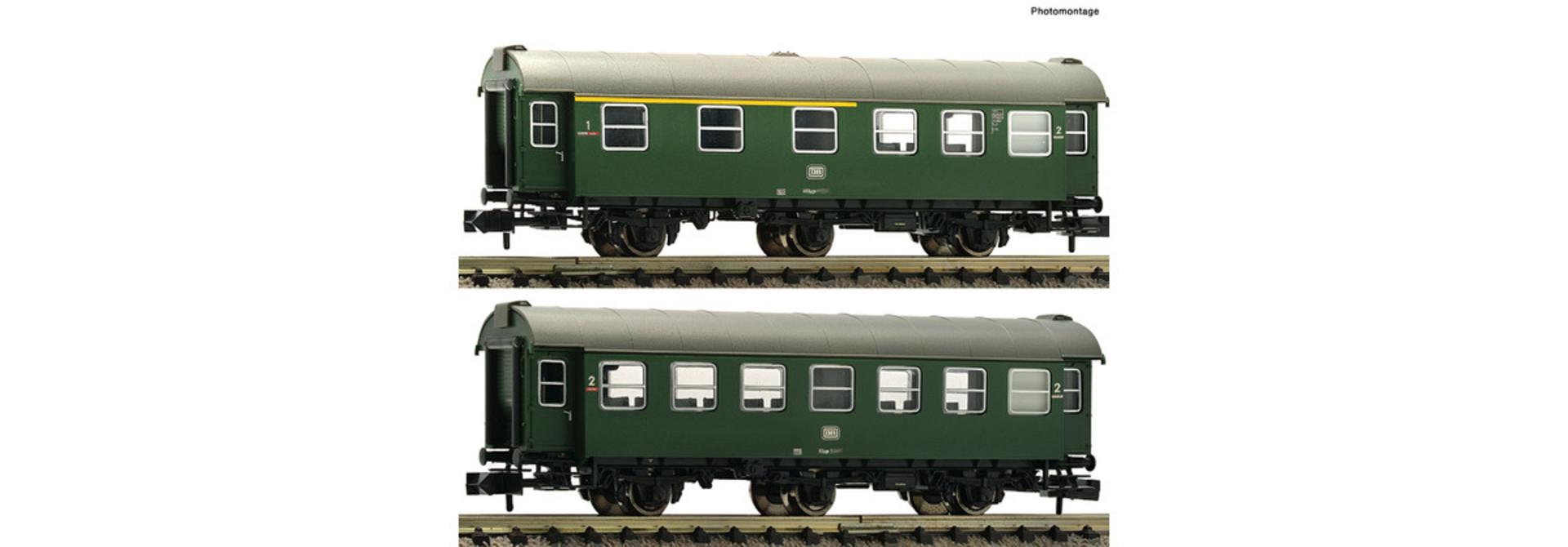 809909 2 delige set: ombouwwagens