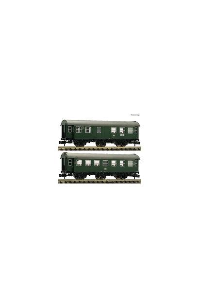 809908 2 delige set: ombouwwagens