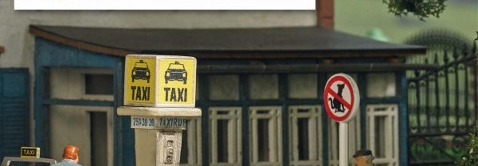 Taxisäule BRD 7763