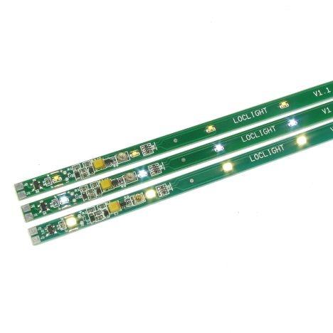 DR100G Ledstrip warm-wit digitaal + figuren H0-2