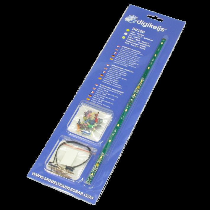 DR100G Ledstrip warm-wit digitaal + figuren H0-1