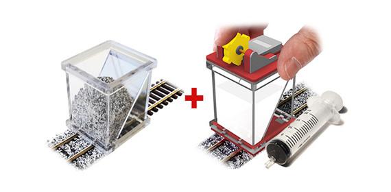 Ballast spreader & Glue applicator Spoor N-1