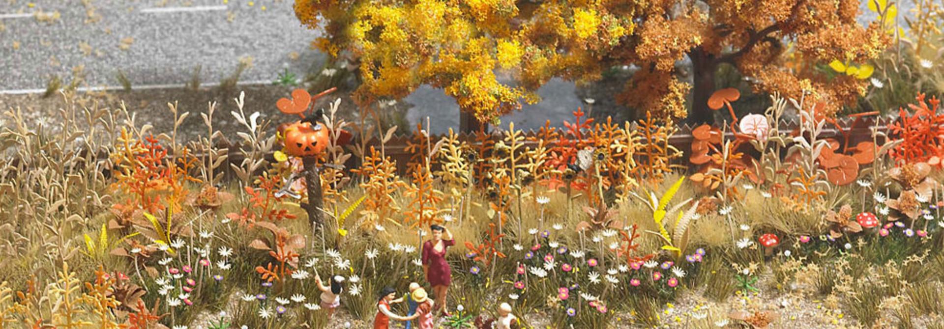 1224 landschap-set ''gouden oktober kleuren''