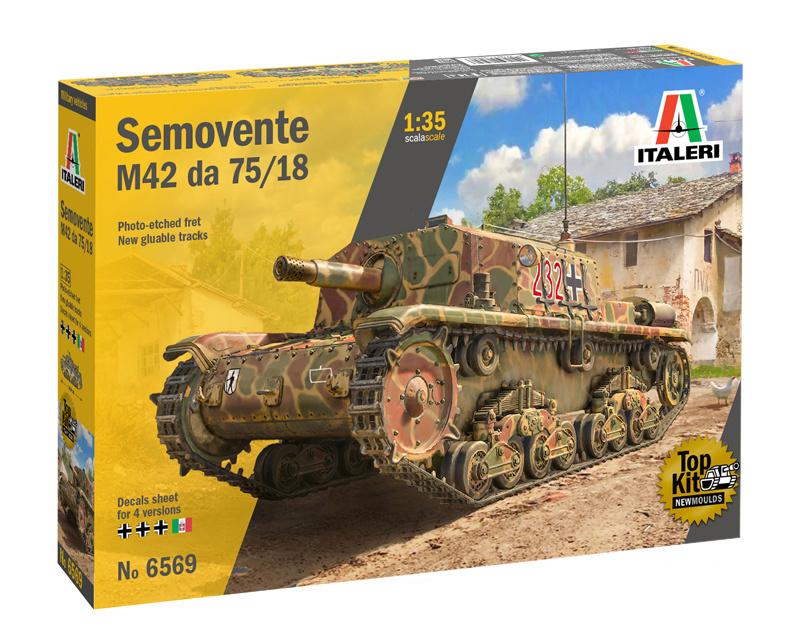 1:35 tank SEMOVENTE M42 da 75/18-1