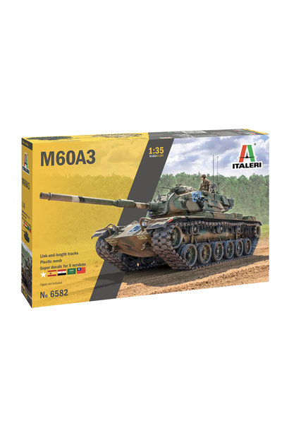 1:35 tank M60A3