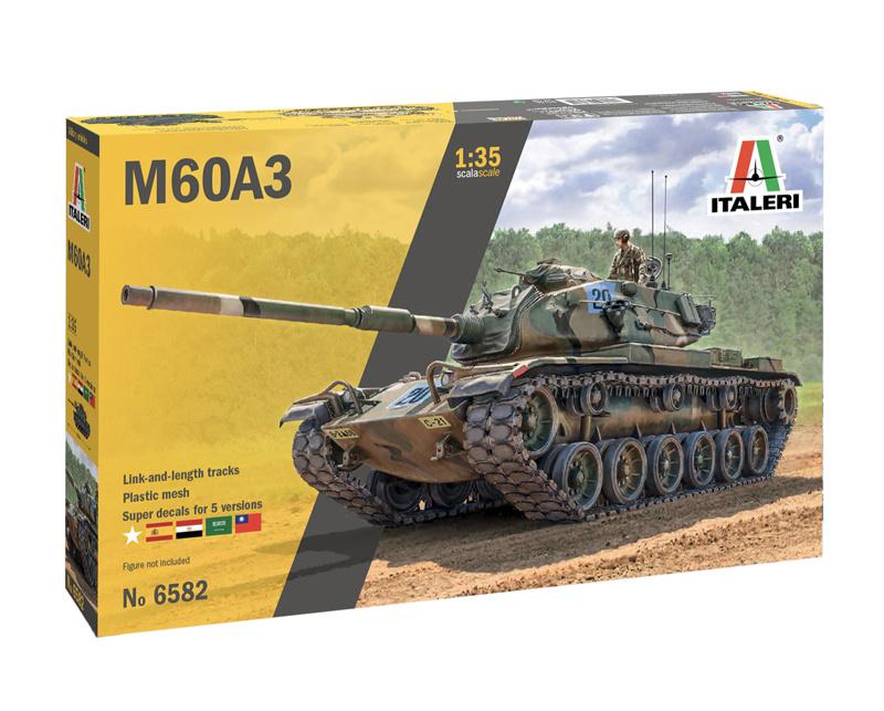 1:35 tank M60A3-1