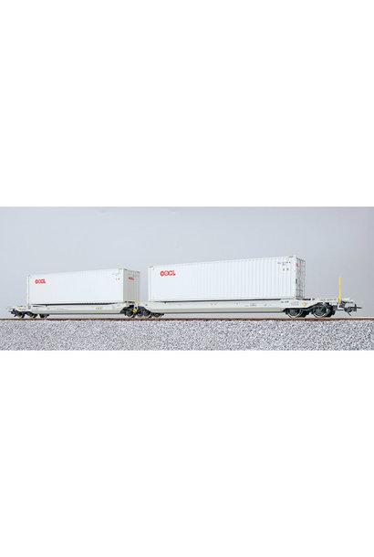 36543 H0 AAE containerwagen Sdggmrs OOL