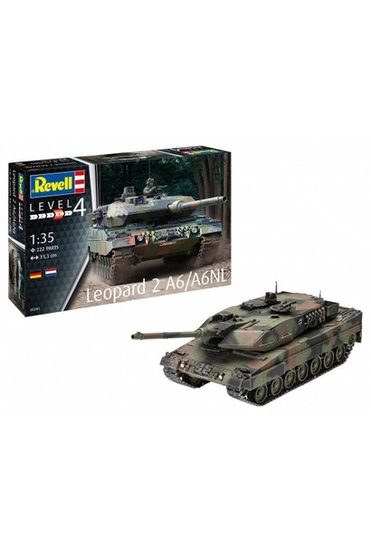 Revell 1:35 Leopard 2 A6/A6NL