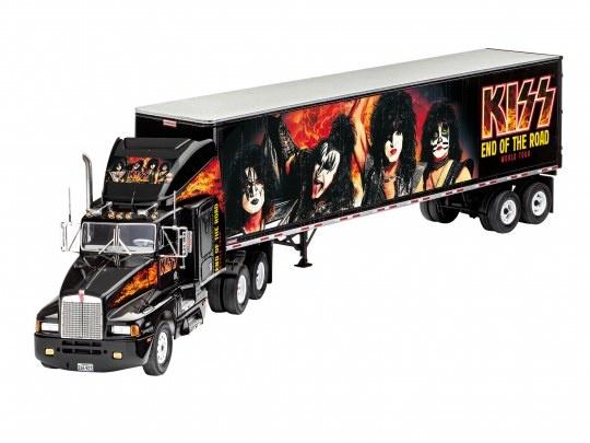 """Revell 1:32 Geschenkset """"KISS"""" Tour Truck-1"""