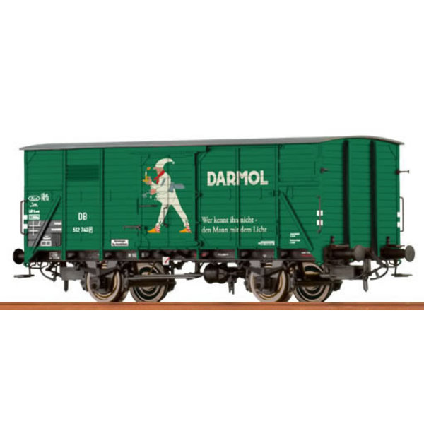Brawa 49050 Ged. Güterwagen G 10 'Darmol' DB