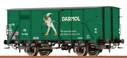 49050 Ged. Güterwagen G 10 'Darmol' DB-1
