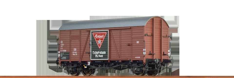 48832 Ged. Güterwagen Gmrs 30 DB 'Eszet'-1