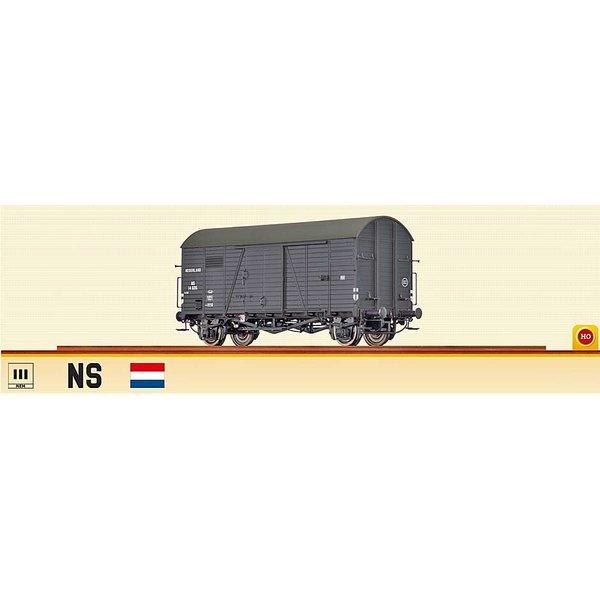 Brawa 48839 Ged. Güterwagen Gms 30 NS