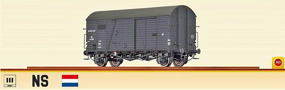 48839 Ged. Güterwagen Gms 30 NS-1