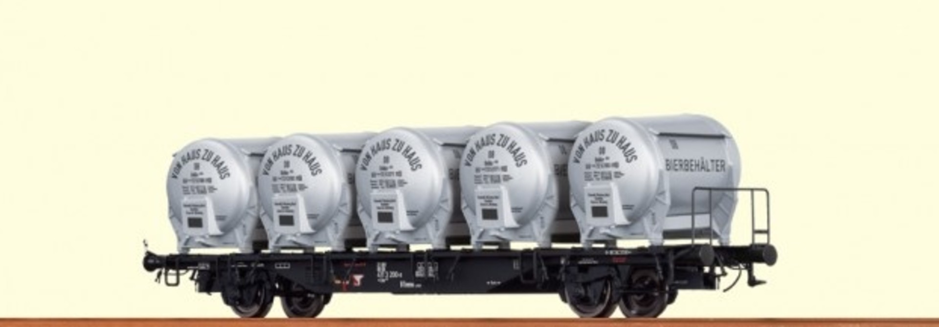 49109 Behältertragwagen BTmms 58